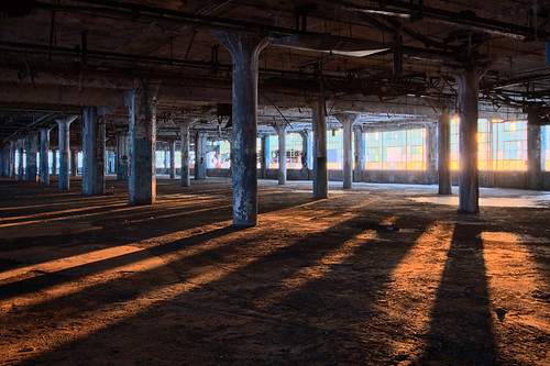 morning sunrise morninglight industrial factory michigan urbandecay detroit urbanexploration openspace sunrays urbex industrialdecay fisherbody detroiturbanexploration fisherbodyplant