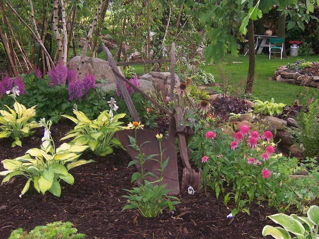 Shade Garden Ideas Hostas Photograph 100 1631 Shade Garden For Garden  Design Ideas Shady Areas