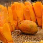 Bags of Cut Mango - Antigua, Guatemala