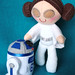Princess Leia & R2D2 plush