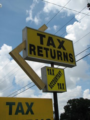 sign: Tax Returns / Tax Accountant Tax