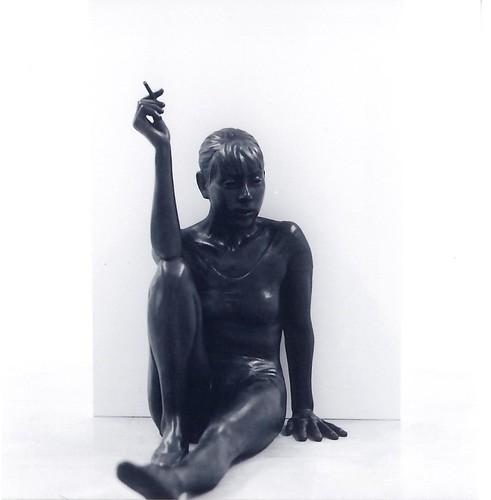 The Degas' dancer has a break by lizardking_cda