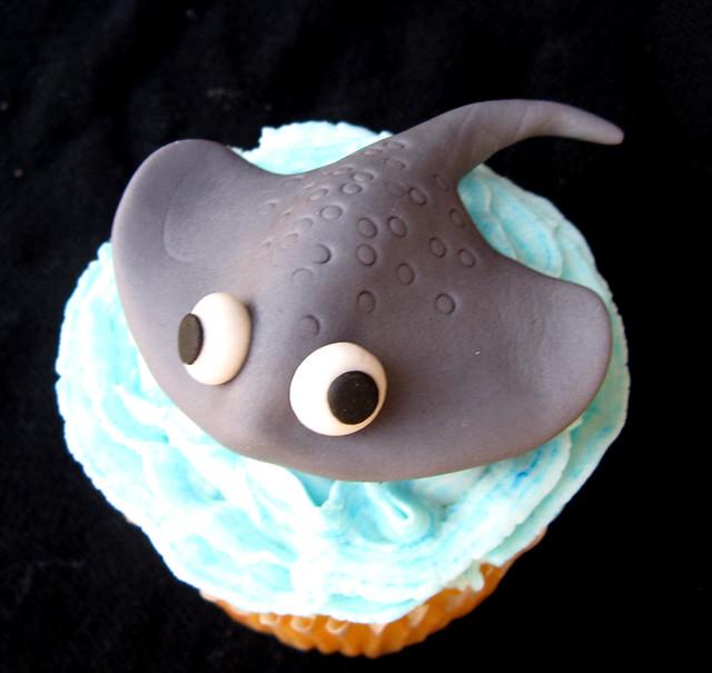 Stingray Cake Topper