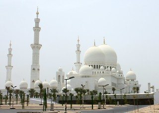 Grand Mosque, Abu Dhabi, UAE.