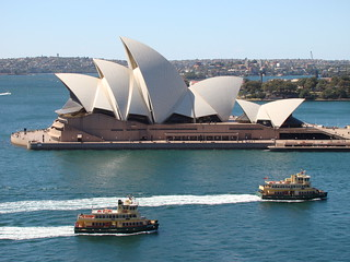Sydney Opera House & Harbour Ferries | by Brian Giesen