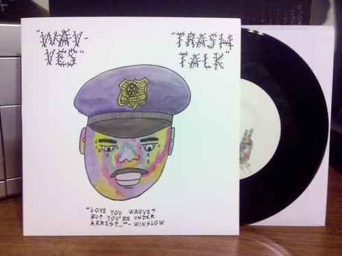 Record Store Day Haul #11 - Wavves / Trash Talk - Split 7""