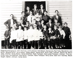 Ridgeville School c. 1914