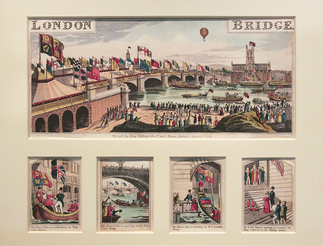 New London Bridge open - 1831