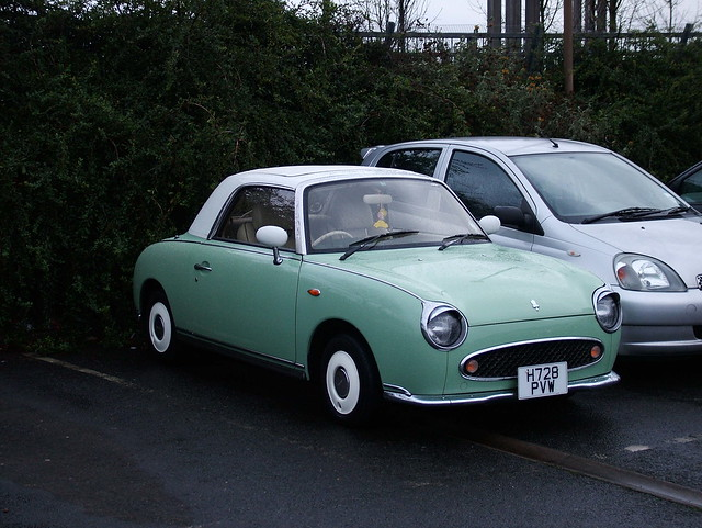 Nissan Figaro Green Dtn Trading Gallery Gt Default Gt View 1991 Nissan Figaro Convertible 210203