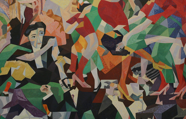 [ S ] Gino Severini - The Dance of the Pan-Pan at the