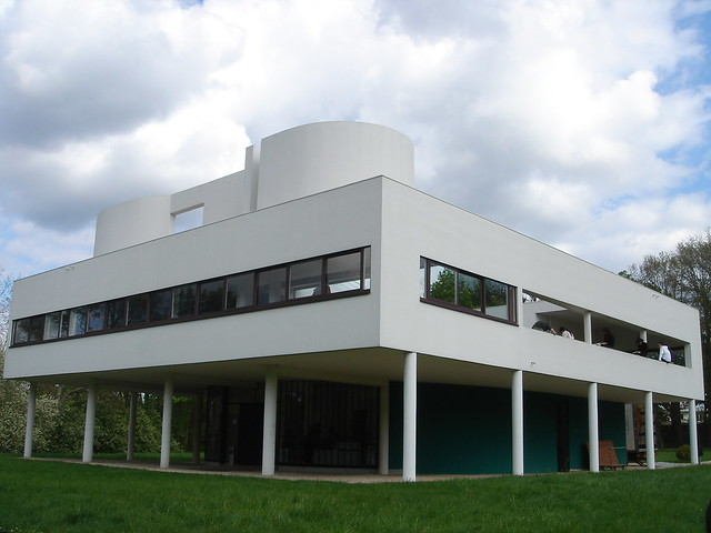 Villa savoye le corbusier poissy paris flickr photo for Poissy le corbusier