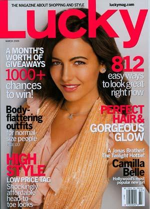 Baby Phat Magazine Credit - Lucky Magazine