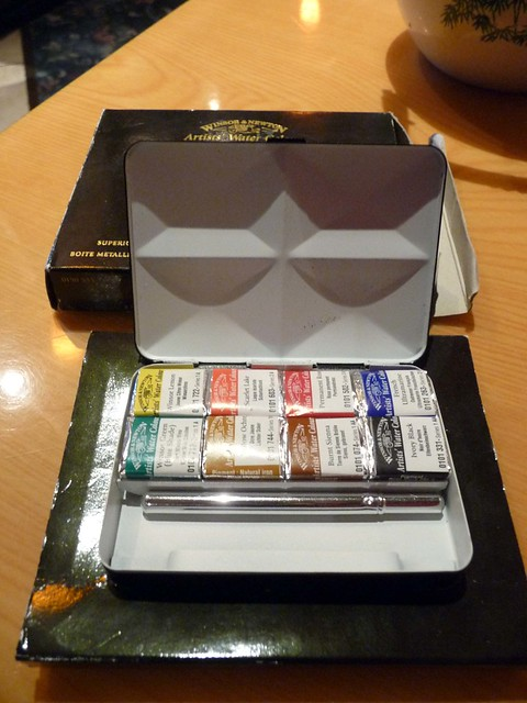 Winsor Newton Bijou watercolor box 3