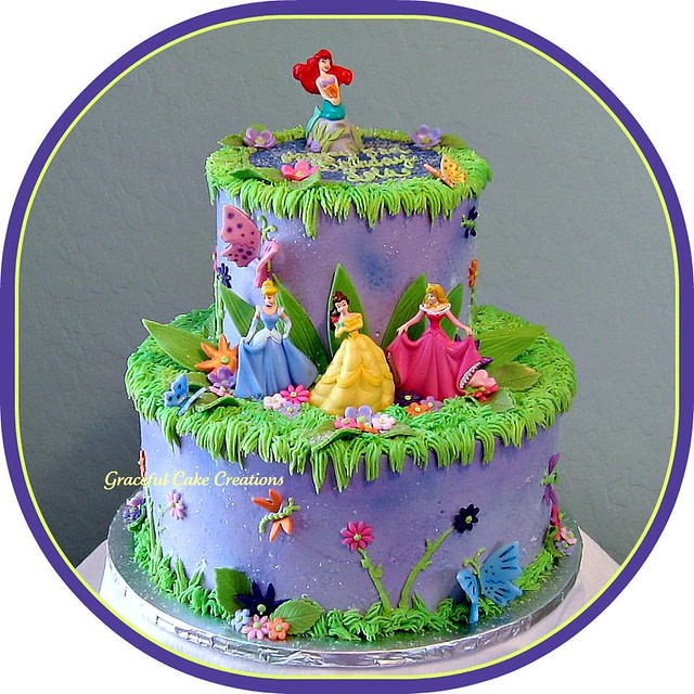 Disney Princess Cake Tins Uk