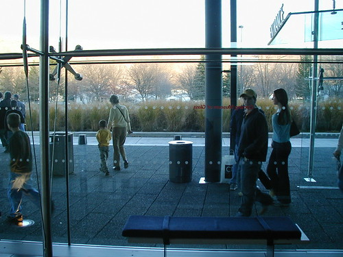 2001 blue usa ny newyork color colour building art glass museum america upstatenewyork corning 2000s corningmuseumofglass canadagood