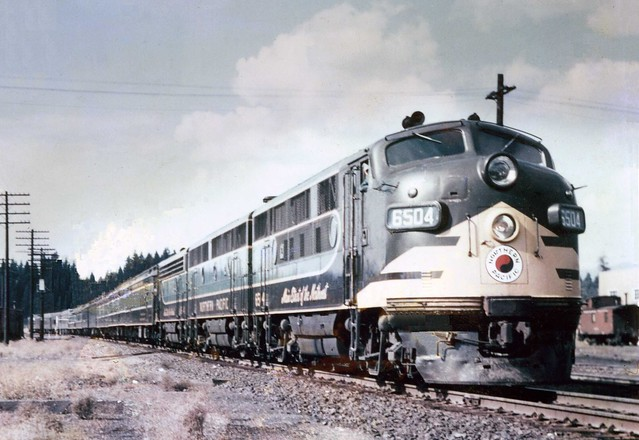 Northern Pacific 6504 @ Cle Elum, WA | Northern Pacific ...