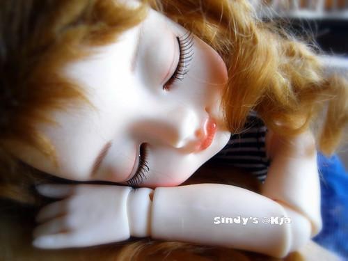 Sleeping okja