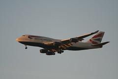 British Airways, Boeing 747-436, G-BNLA