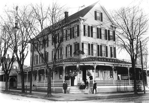 Riesenburger's Hotel, College Point, ca. 1905