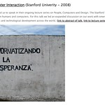 Stanford Human Computer Interaction (Stanford Univerity - 2008)