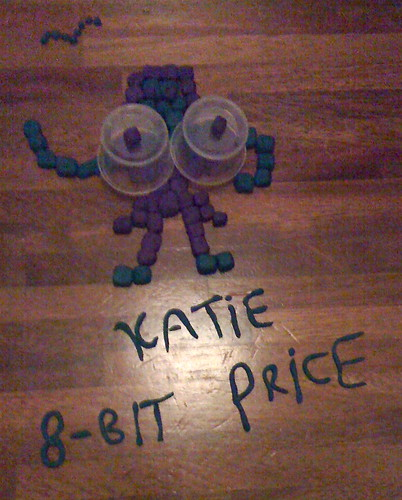 plasticine round: Katie Price 8-bit (Develop volunteers)
