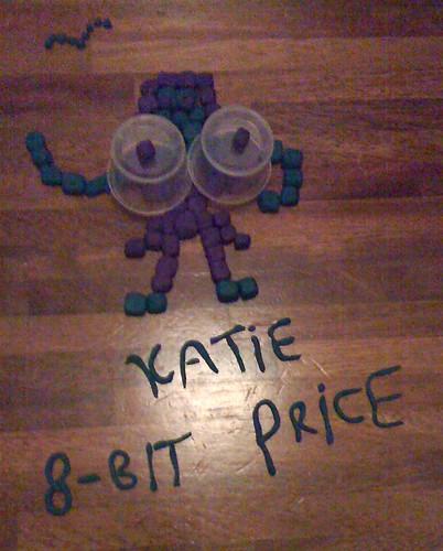 plasticine round: Katie Price 8-bit (Develop volunteers)