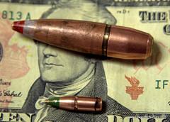 writing(0.0), firearm(0.0), weapon(1.0), ammunition(1.0),