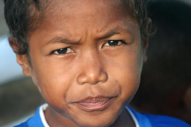 Boy in Raja Ampat.