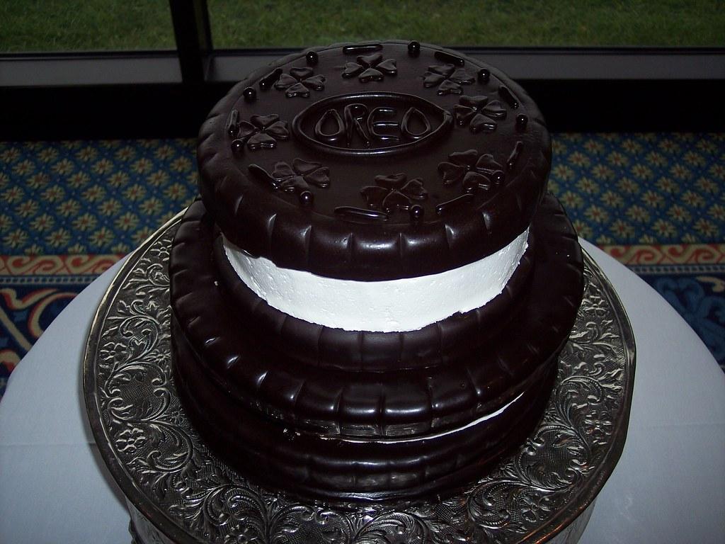Oreo Cookie Wedding Cake Wilmington Nc Carolina Cakes Confections