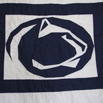 penn quilt nittany lion by jean f