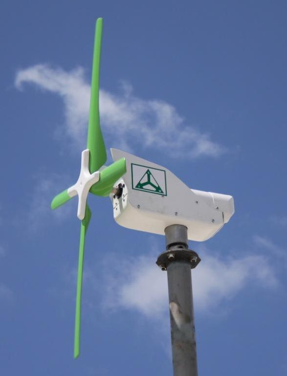 TechnoSpin's ComSpin S1 Wind Turbine 2