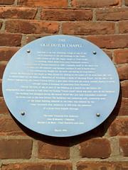 Photo of Thomas Drayton blue plaque