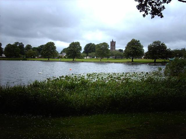 Castle Douglas. Carlingwark Loch.  IMAG1188