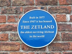 Photo of The Zetland blue plaque