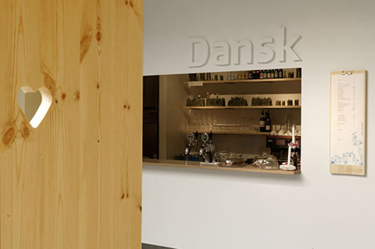 Dansk - Unusual Cafe Interior Design with Eye Catching Furniture:: Classic Home