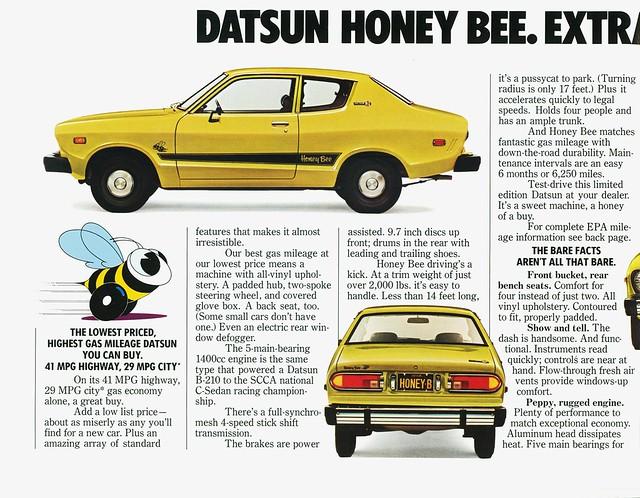1976 Datsun Honey Bee #2 | Flickr - Photo Sharing!