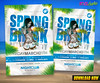 Spring Break After Party Flyer Template