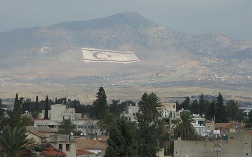 Vue de la partie turque de Nicosie