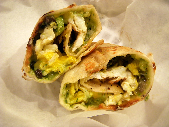 Cilantro Black Bean Breakfast Burrito | My favorite breakfas ...