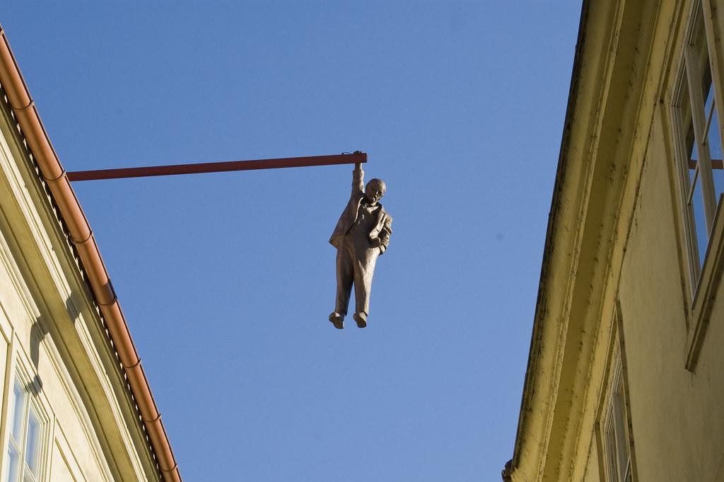 Hanging around Prague