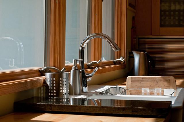Cleaning Kitchen Sink Cartridge