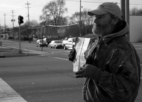 Homeless in Flint