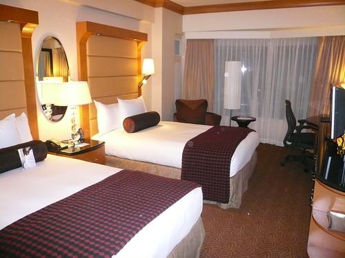 Double Bed Hilton Hotel Manhattan New York City