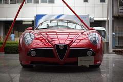 alfa romeo giulia tz(0.0), race car(1.0), automobile(1.0), alfa romeo(1.0), vehicle(1.0), automotive design(1.0), alfa romeo 8c(1.0), alfa romeo 8c competizione(1.0), antique car(1.0), land vehicle(1.0), supercar(1.0),