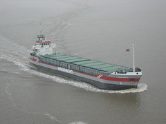 ferry(0.0), roll-on/roll-off(0.0), platform supply vessel(0.0), floating production storage and offloading(0.0), reefer ship(0.0), channel(0.0), passenger ship(0.0), ocean liner(0.0), oil tanker(0.0), motor ship(1.0), vehicle(1.0), tank ship(1.0), freight transport(1.0), ship(1.0), bulk carrier(1.0), cargo ship(1.0), panamax(1.0), watercraft(1.0), container ship(1.0),