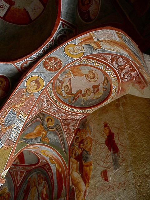 Karanlık Kilise — Göreme, Turkey  Flickr - Photo Sharing!
