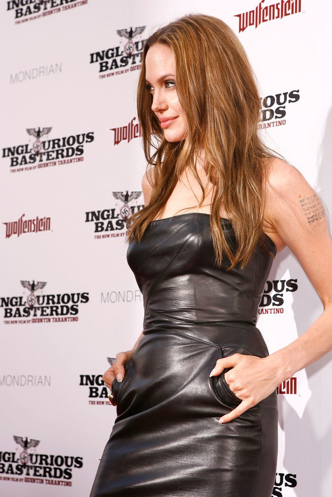 Angelina Leather Dress 1