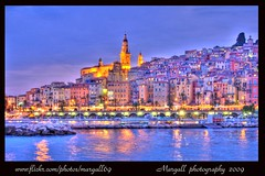 menton by nigth by Margall photography