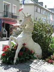 La licorne, symbole de la ville