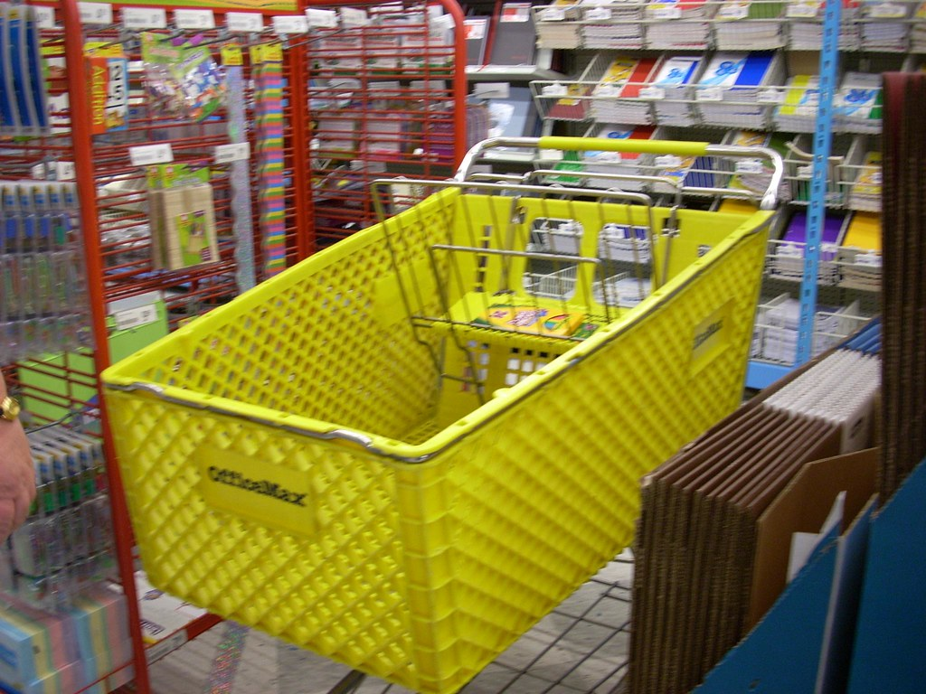 Officemax Shopping Cart Officemax 6355 36460 Square Fee Flickr